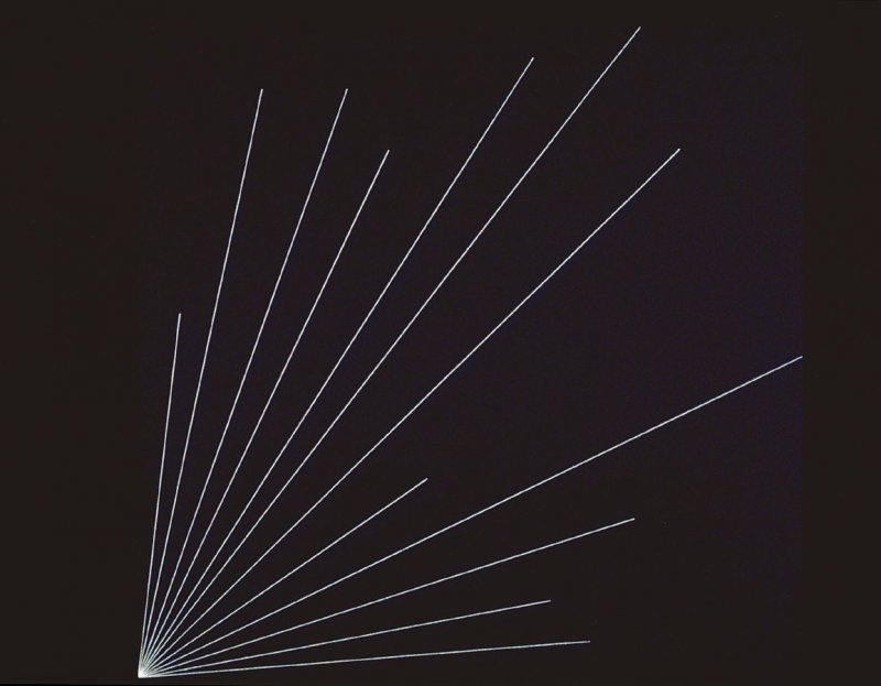 Untitled, pl. 4, from the portfolio, Lines to Specific Points (New York: Parasol Press Ltd., 1975)
