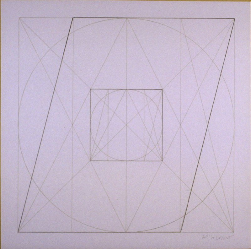 Untitled, pl. 32, from the portfolio, Geometric Figures within Geometric Figures