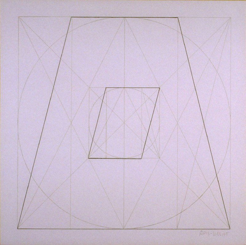 Untitled, pl. 30, from the portfolio, Geometric Figures within Geometric Figures