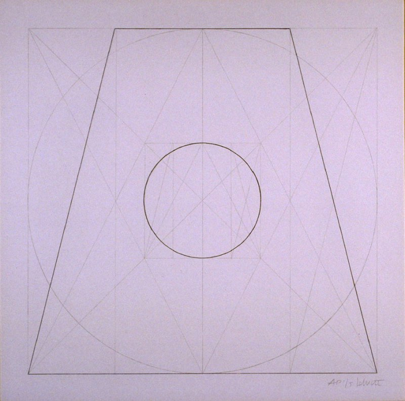Untitled, pl. 25, from the portfolio, Geometric Figures within Geometric Figures