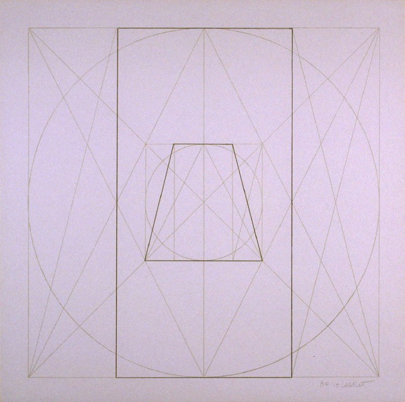Untitled, pl. 23, from the portfolio, Geometric Figures within Geometric Figures