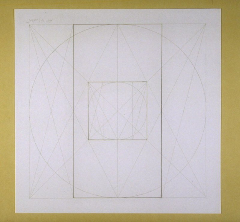Untitled, pl. 20, from the portfolio, Geometric Figures within Geometric Figures