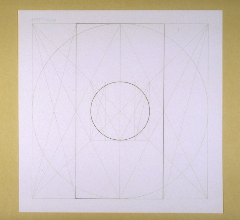 Untitled, pl. 19, from the portfolio, Geometric Figures within Geometric Figures
