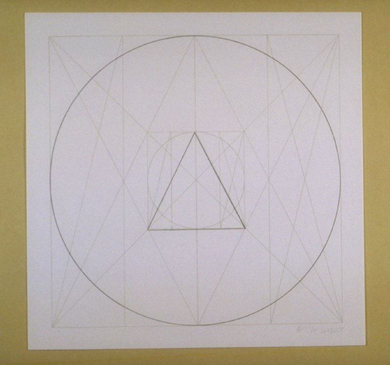 Untitled, pl. 3 from the portfolio Geometric Figures within Geometric Figures(New York: Parasol Press Ltd., 1976)