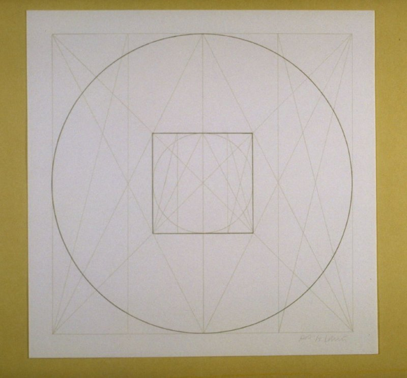 Untitled, pl. 2 from the portfolio Geometric Figures within Geometric Figures(New York: Parasol Press Ltd., 1976)