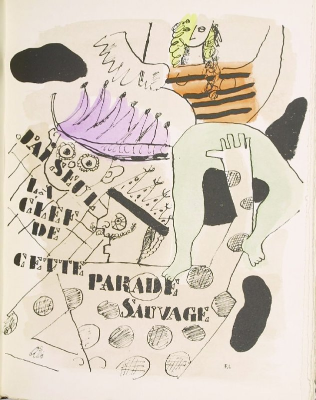 """Parade,"" pg. 110, in the book Les Illuminations by Arthur Rimbaud (Lausanne: Grosclaude, Éditions des Gaules, 1949)."