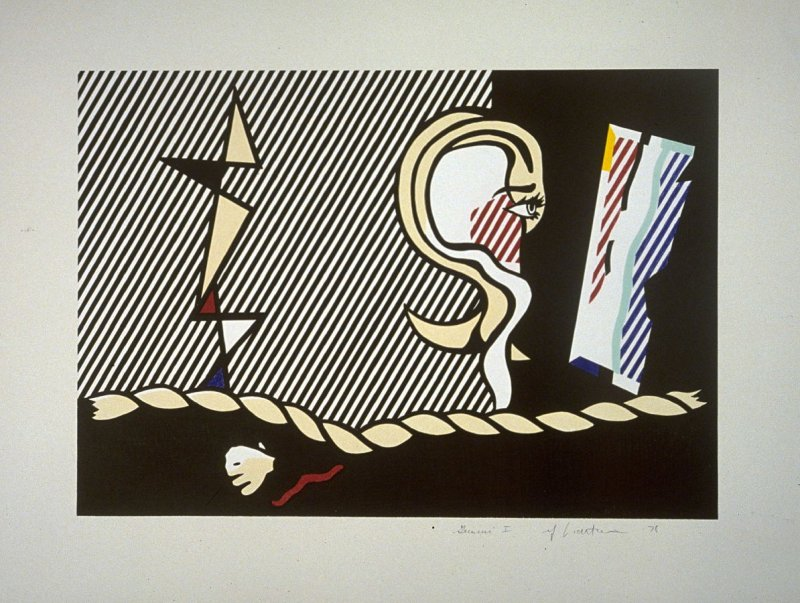 Figures with Rope, from the Surrealist series