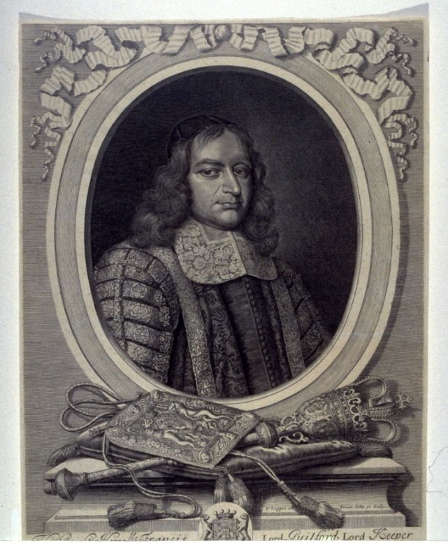 Portrait of Francis Guilford