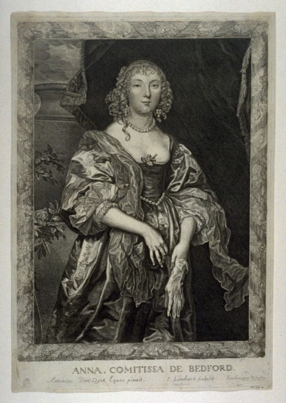 Portrait of Anne, Countess of Bedford