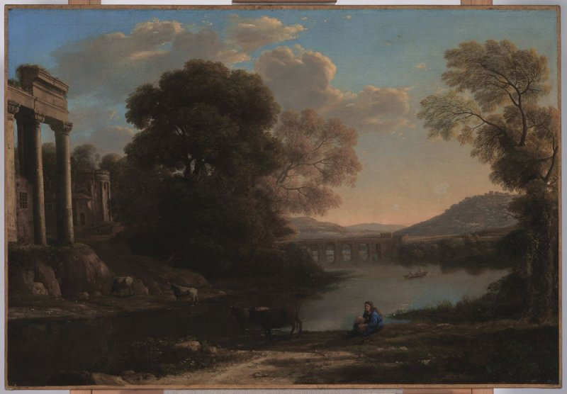 Landscape with Cowherd (or Evening)