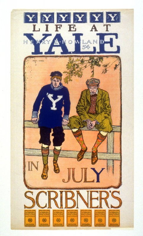 Scribner's July 1897 (Life at Yale [by] Henry Howland [class of] 54)