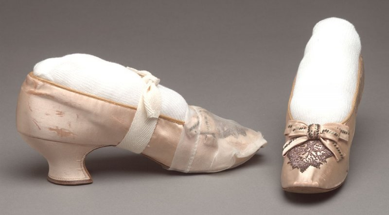 Pair of woman's evening shoes