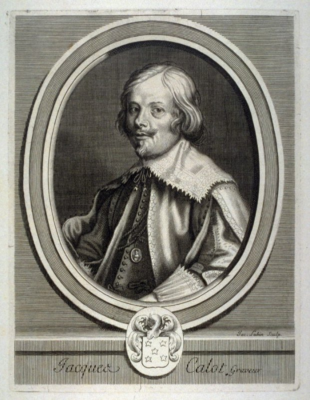 Portrait of Jacques Callot, Engraver