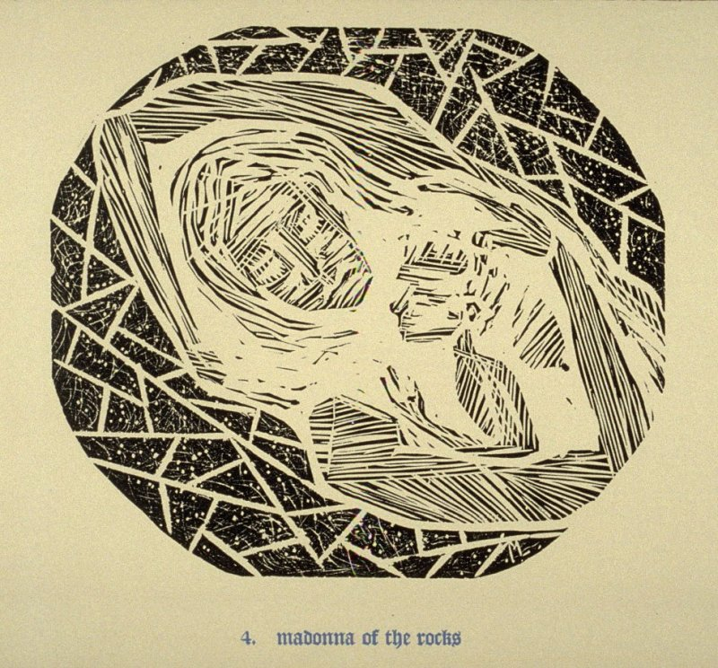 Madonna of the Rocks - Pl.4 from Back to the Cave, a Portfolio of Twelve Prints
