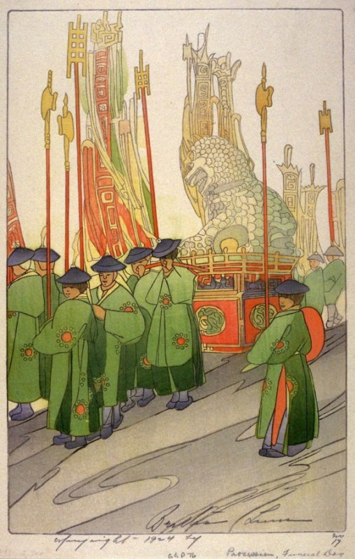 Chinese Procession, Funeral Day