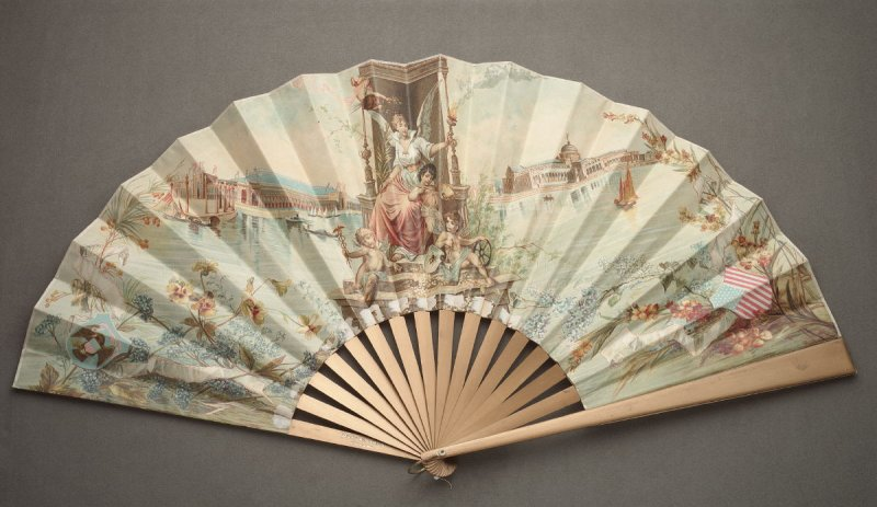 Columbian Exposition Fan