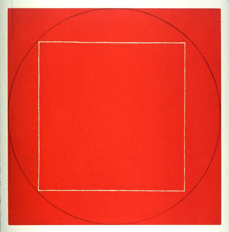 Untitled (Red) from the portfolio, Seven Aquatints
