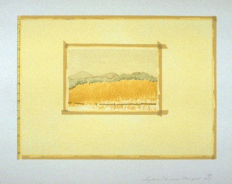 Untitled (Sugarlift), pl. 2 from the portfolio Aquatint, Sugarlift and Golden Changes(New York: Parasol Press LTD: 1977)