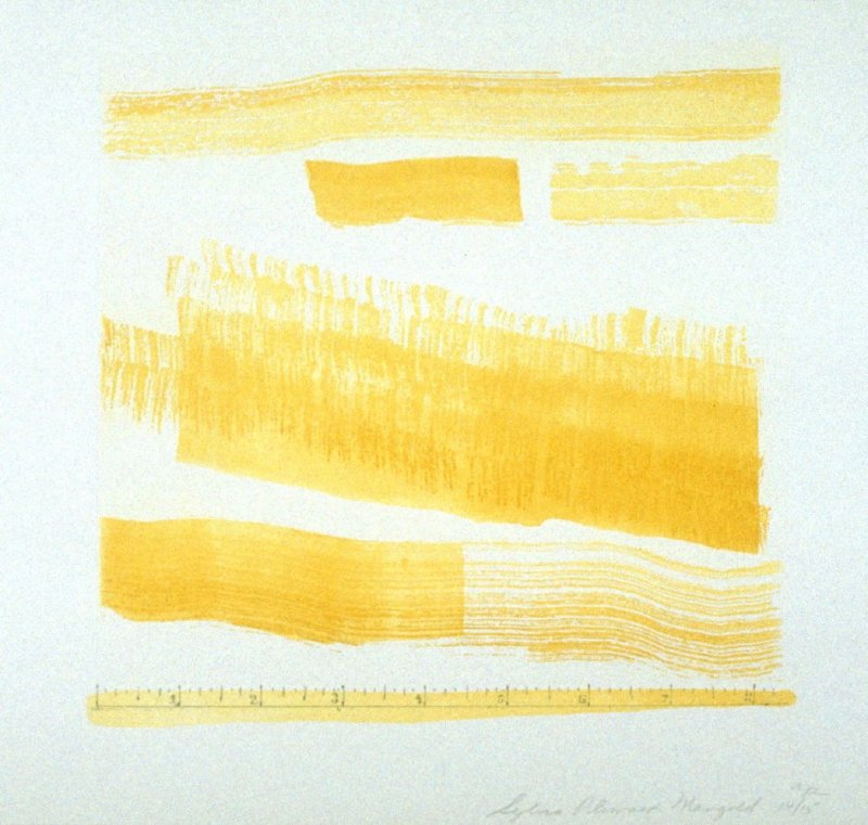 Untitled (Golden Changes), pl. 3 from the portfolio Aquatint, Sugarlift and Golden Changes(New York: Parasol Press LTD: 1977)