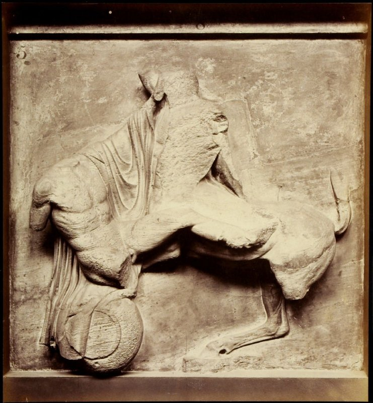 Object from the British Museum: Sculptural fragment from the Parthenon