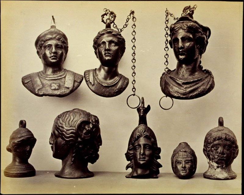 Objects from the British Museum: Roman heads