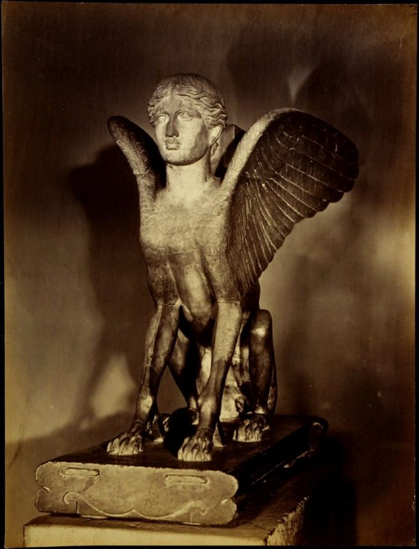 Object from the British Museum: Roman (winged figure)