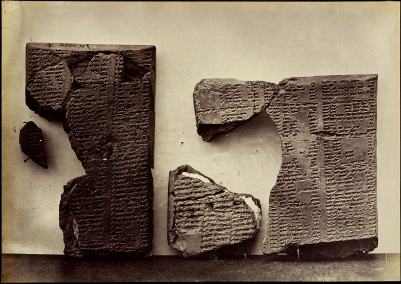 Objects from the British Museum: Assyrian Tablets