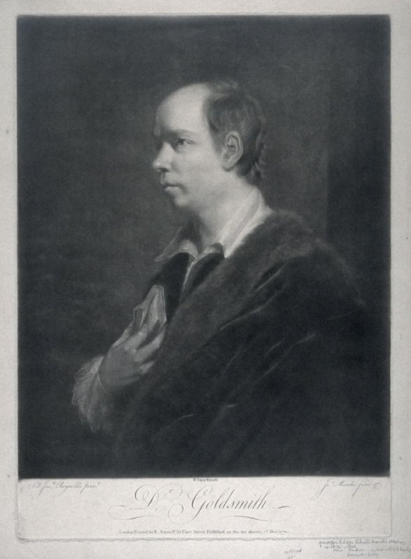 Portrait of Dr. Oliver Goldsmith