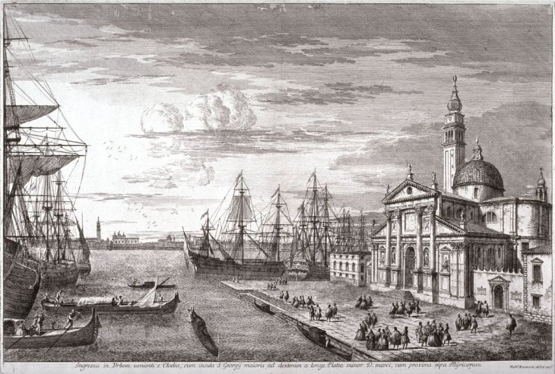The Basin of St. Mark's, pl. 4 from the series Magnificentiores Selectioresque Urbis Venetiarum Prospectus (Views of Venice)