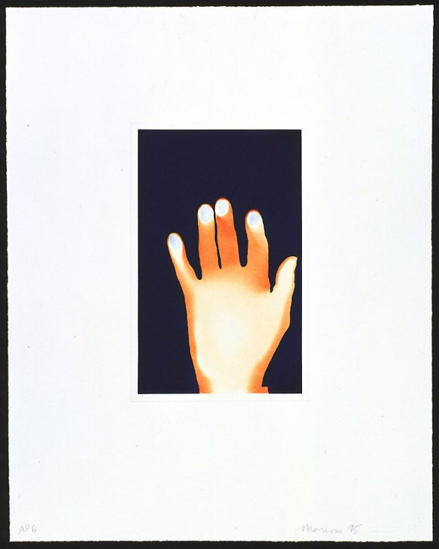 The Hand of the Artist, from the portfolio, Gravure Group