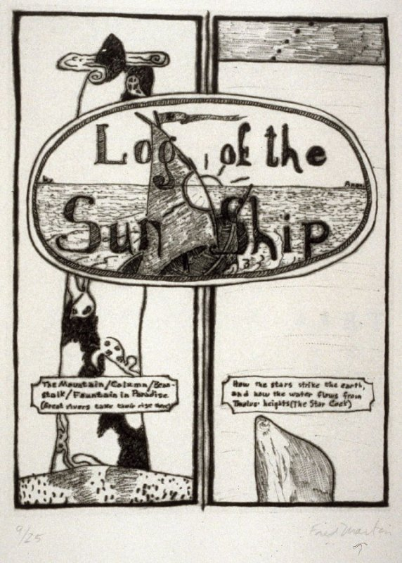 Titlepage(pg. 1) from the book Log of the Sun Ship
