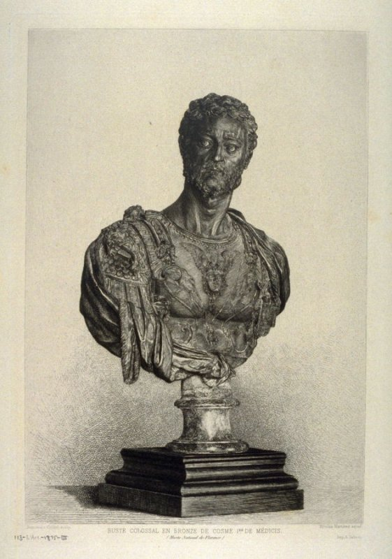 Cellini Bust of Cosimo de Medici