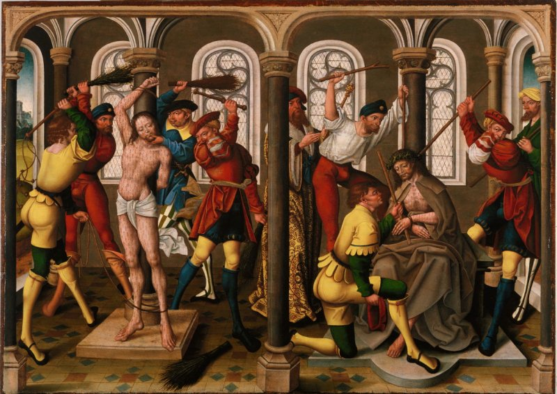 Two Scenes from the Passion of Christ: The Flagellation and The Crowning of Thorns