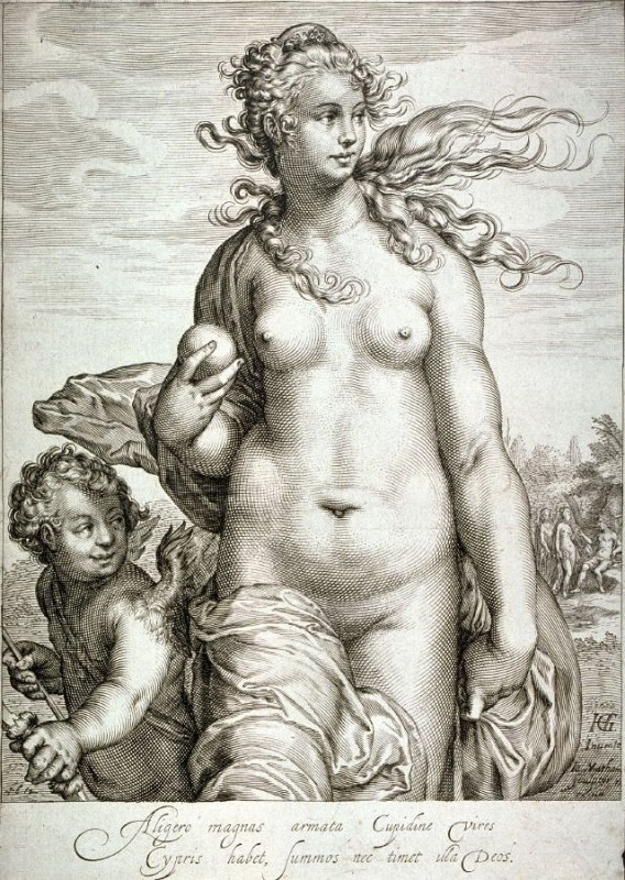 Venus Taking the Prize for Beauty