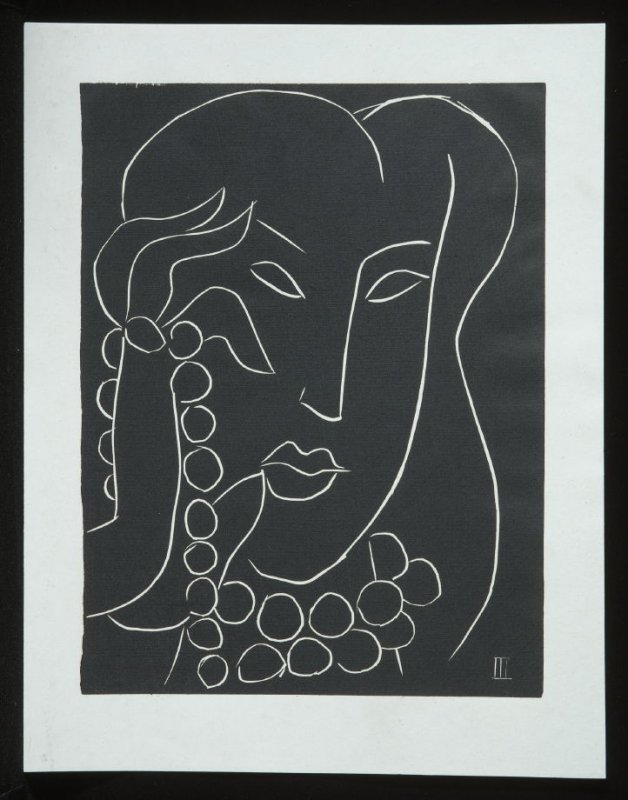Untitled, III, (from the suite) in the book Pasiphaé: Chant de Minos (Les Crétois) by H. de Montherlant (Paris: Martin Fabiani, 1944).
