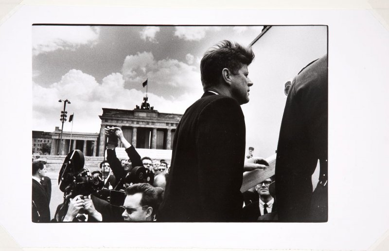 John F. Kennedy, Brandenburg Gate, Berlin, Germany