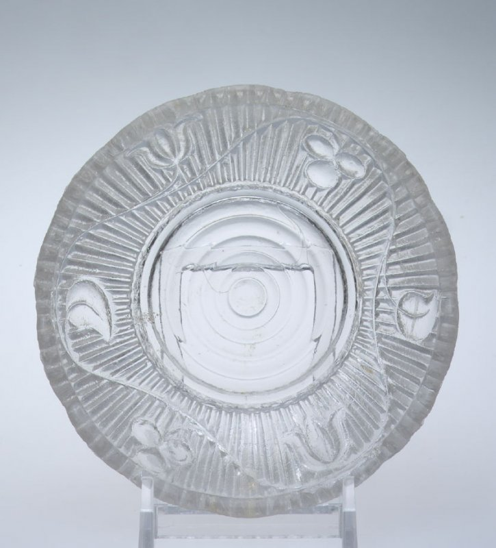 Sauce dish with Bellflower pattern