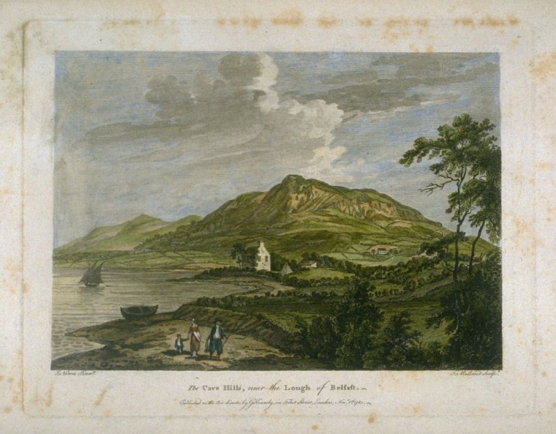The Cave Hills, near the Lough of Belfast