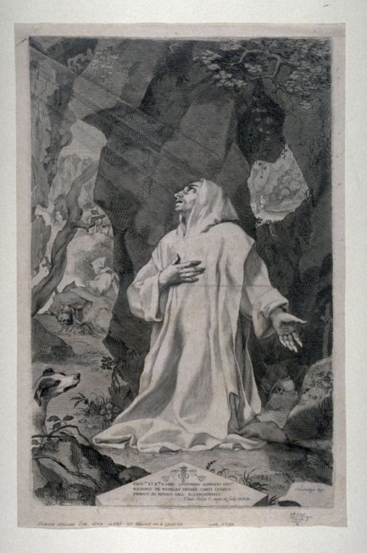 St. Bruno in a Grotto