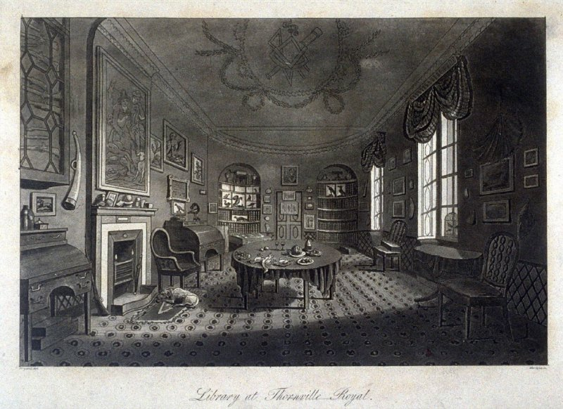 Library at Thornville Royal
