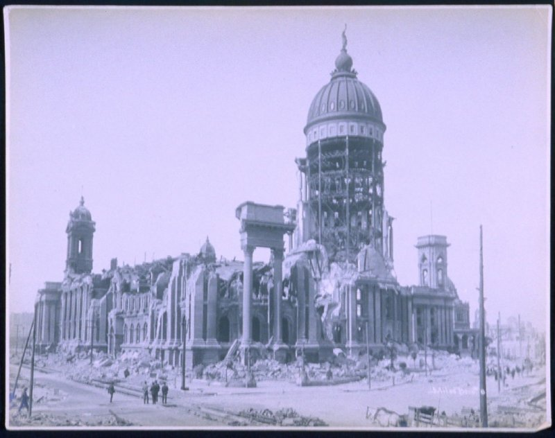 Ruins of City Hall (San Francisco earthquake series no. 8)