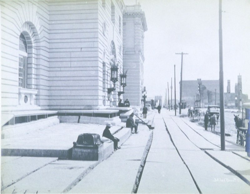 Front of Federal Court Building (San Francisco earthquake series no. 71)