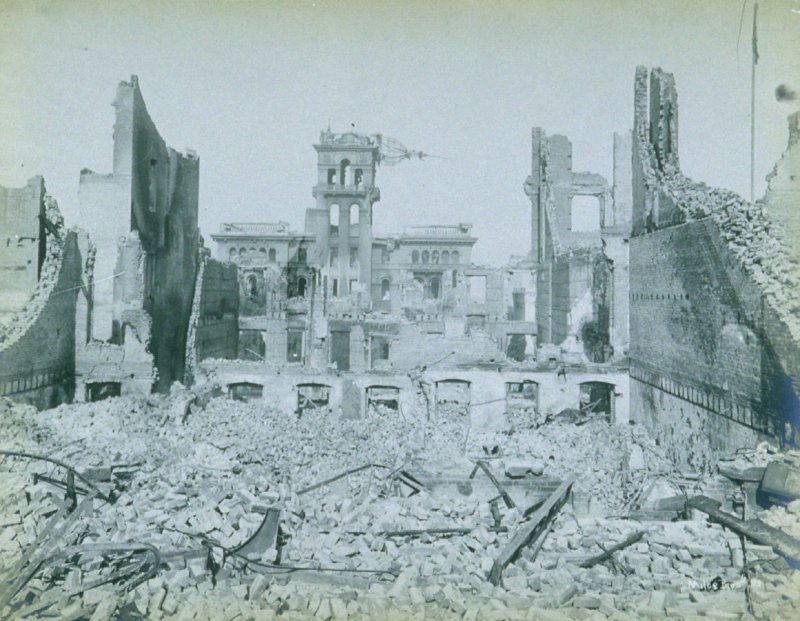 Ruins of Hall of Justice, Portsmouth Square (San Francisco earthquake series no. 103)