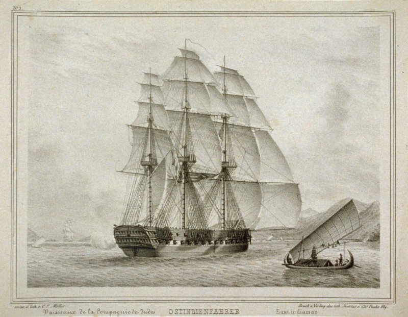 No.3, East Indiaman.