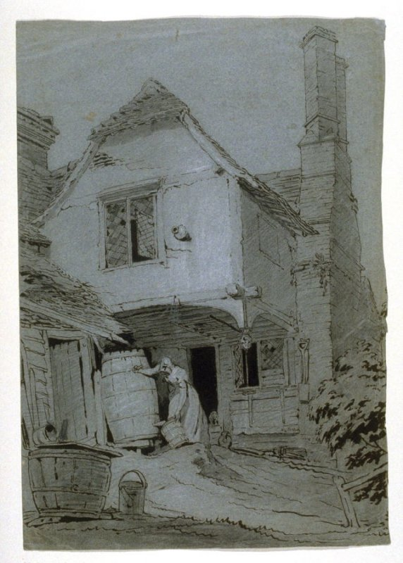Old House, Litchmore Heath July 13, 1812