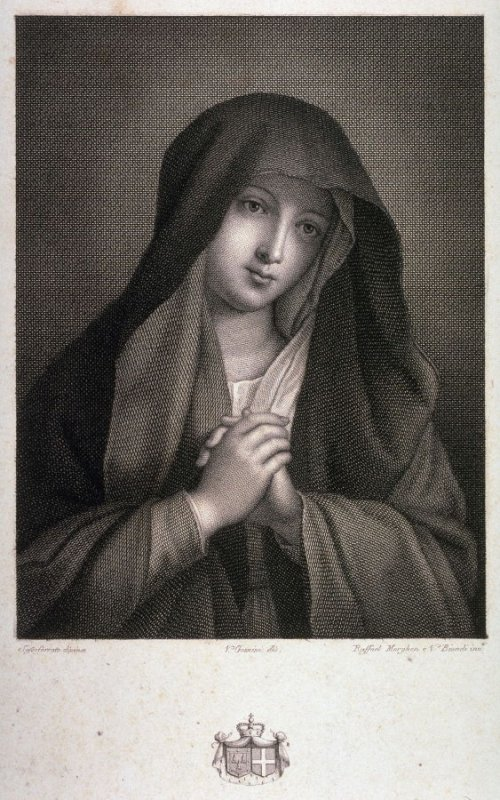Religious Woman with Hands Clasped in Prayer, after Sassoferrato