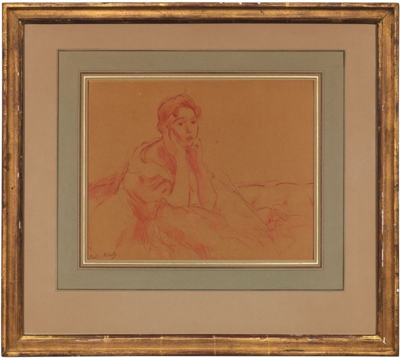 Femme Assise, Portrait Of A Young Woman