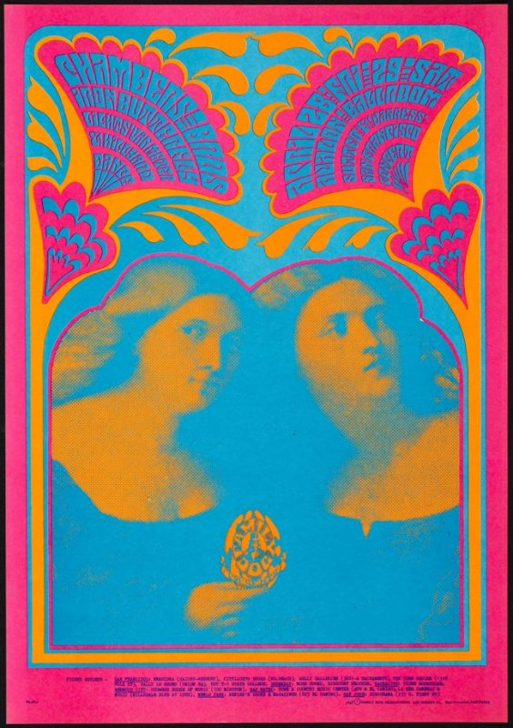 """Bobbsey Twins,"" Chambers Brothers, Iron Butterfly, April 28 & 29, Avalon Ballroom"