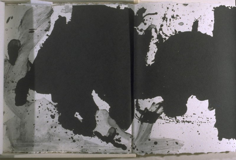 """""""Black with No Way Out,"""" in the book El negro Motherwell (Bedford, New York: Tyler Graphics Ltd., 1983)"""