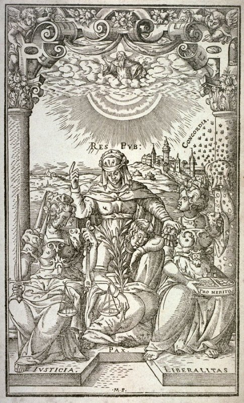 Allegory on the City of Nuremberg